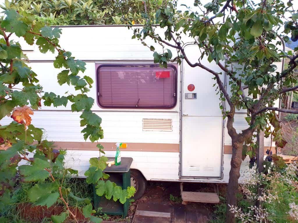 caravan workaway sizilien