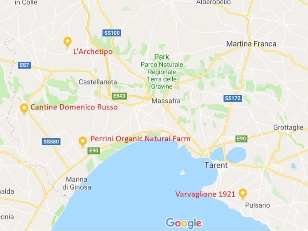 Apulien Karte Italien.Weingüter In Süditalien Von Rom Bis Sizilien Wine Travelling