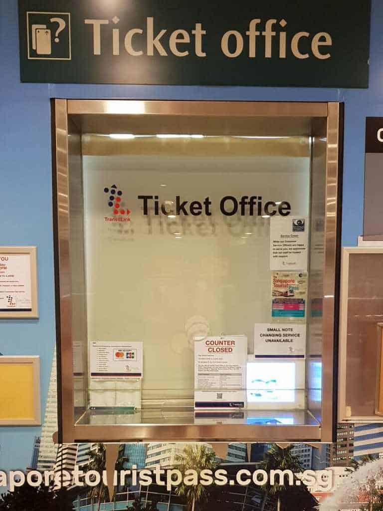 ticketschalter der ubahn wie immer geschlossen