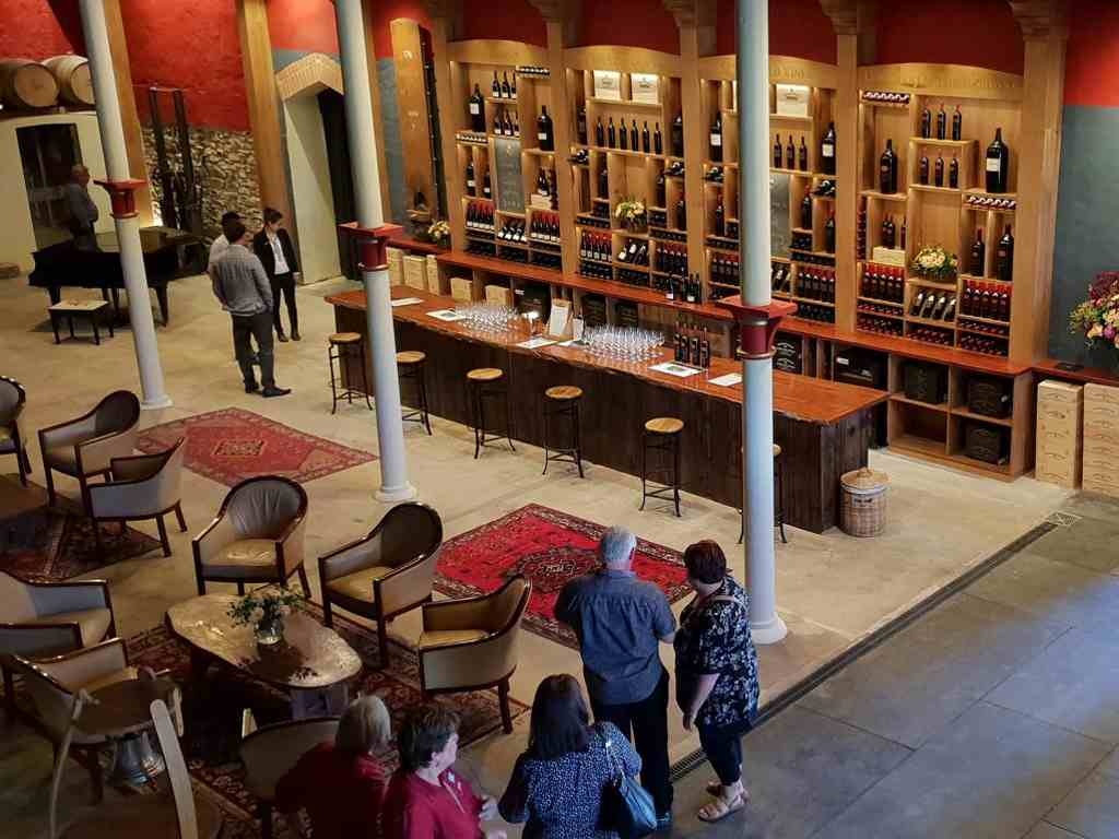 das neue cellar door von chateau tanunda