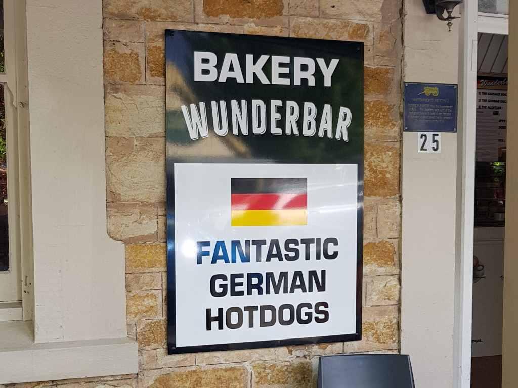 nuriootpa schild mit german bakery
