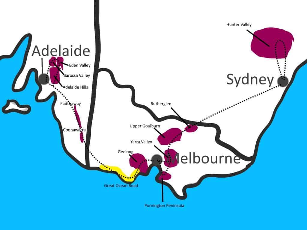 weinregionen australien uebersicht empfehlung von unserer reise