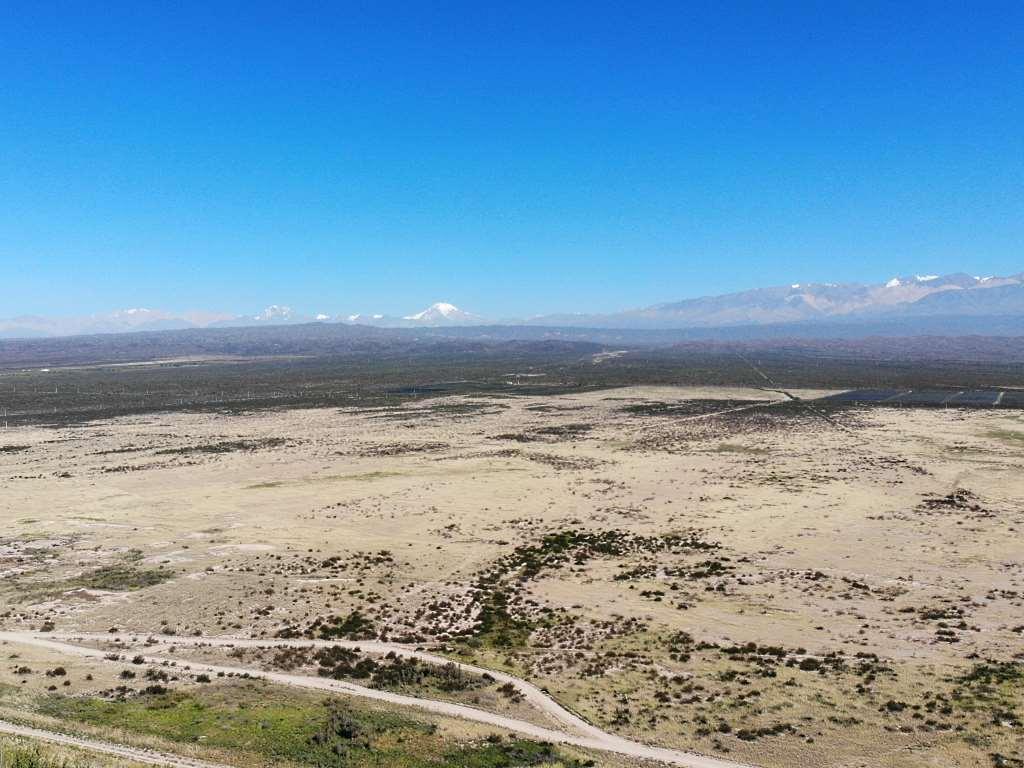 argentinische wüste vor den anden