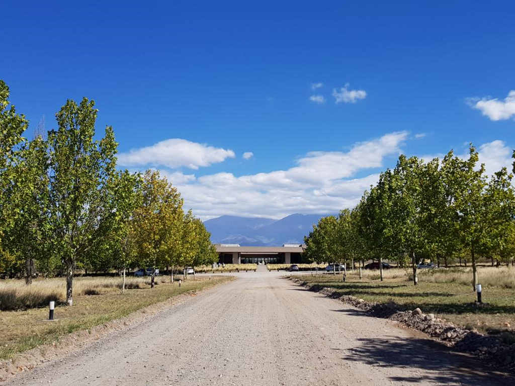 weingut salentain hauptgebaeude uco valley mendoza argentinien