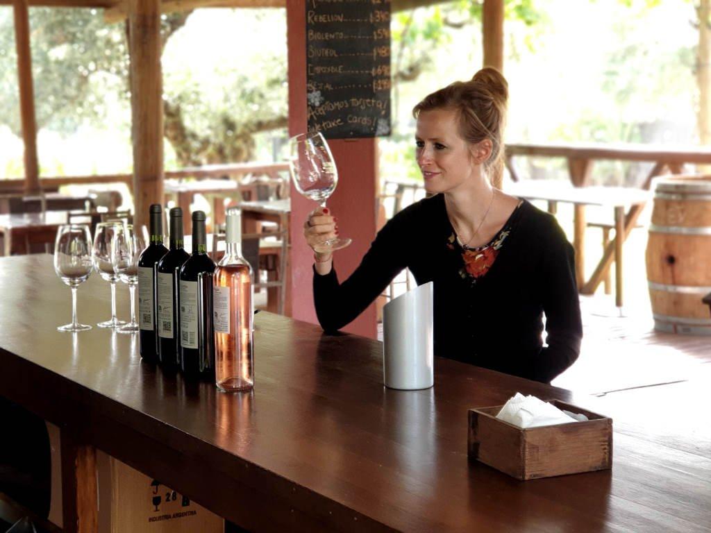 juliane bettinga maal wines verkostung außenterrasse