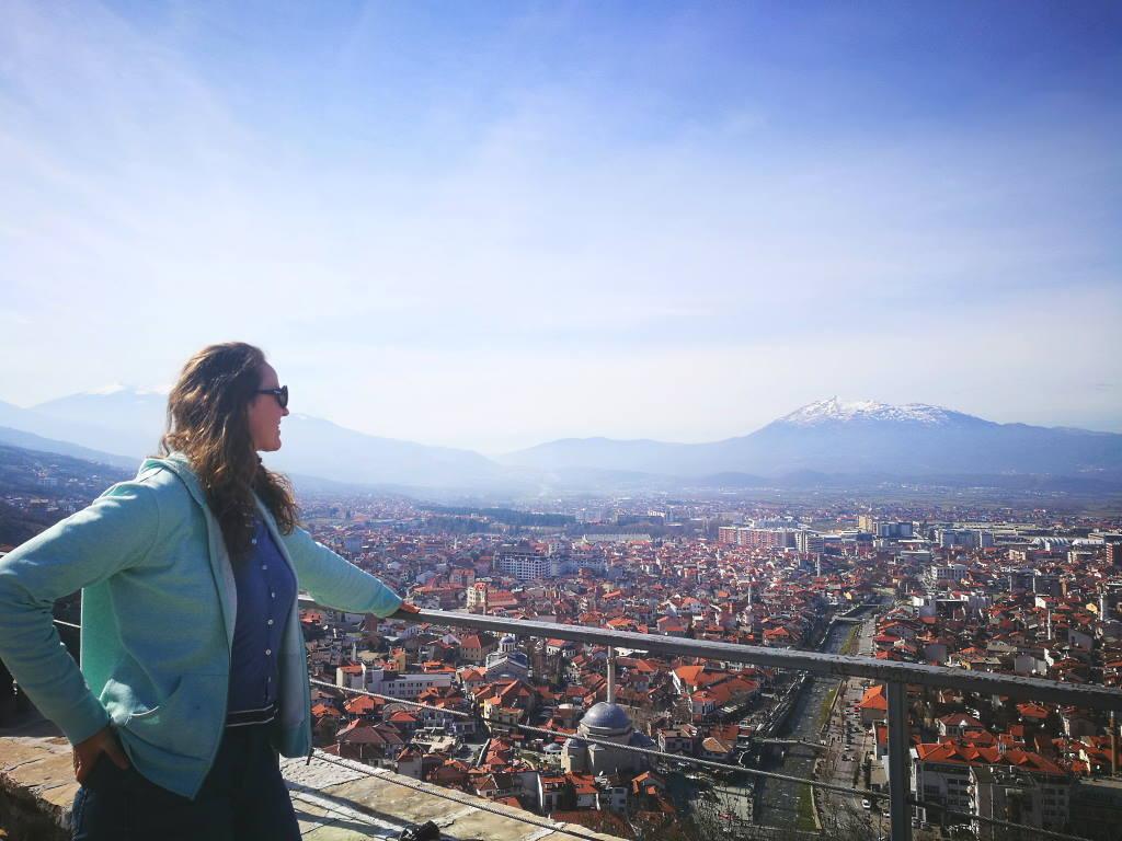 ausblick auf prizren kosovo