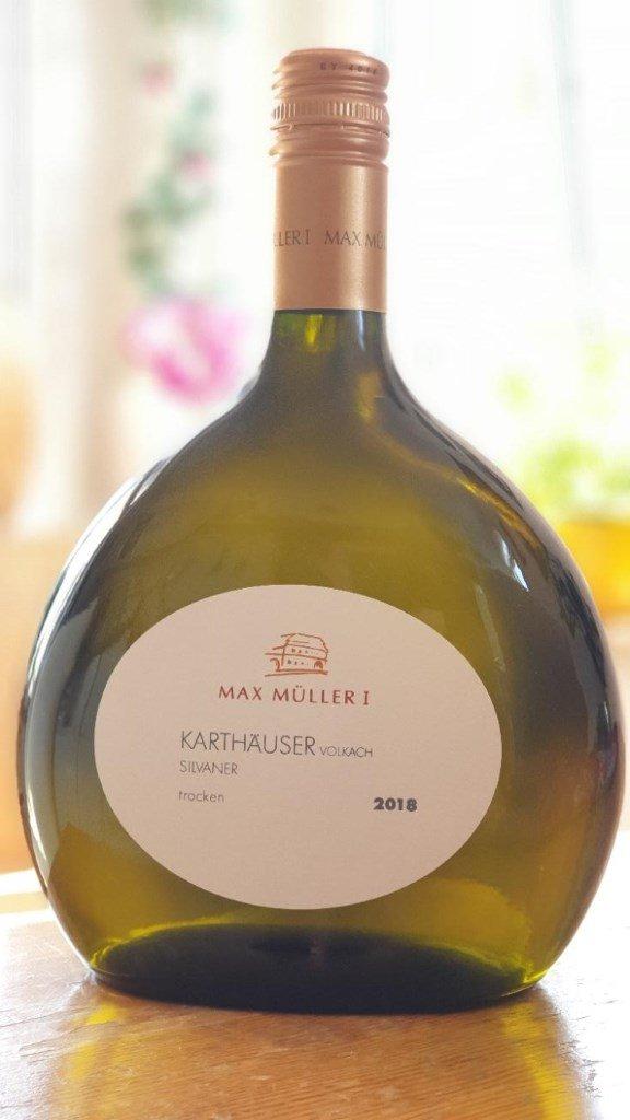Bocksbeutel vom Weingut Max Müller in Volkach