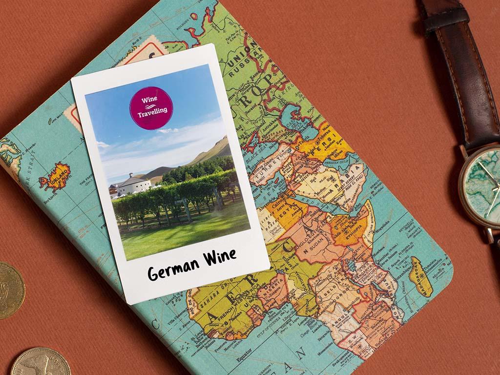 Weinanbaugebiete Deutschland Karte
